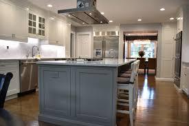 Kitchen Rustic Kitchen Storage Design With Hickory Kitchen Cabinets