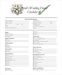 wedding checklist templates 14 wedding checklist templates free pdf doc format download