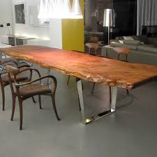 Redwood Slab Dining Table Slab Dining Table By Scott Dworkin Referred To By Some As The