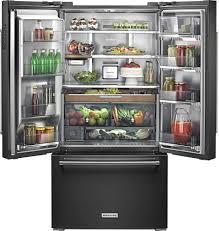 Counter Depth Refrigerator Only Kitchenaid 238 Cu Ft French Door Counter Depth Refrigerator