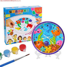 funny children plaster painting toys kids child drawing toys diy educational toy intl noovx6um