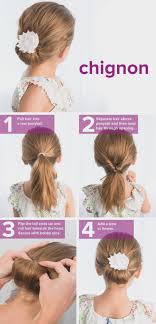 Easy Updo Hairstyles For Medium Long Hair Tutorial The Latest
