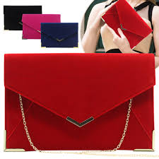 Designer Black Suede Clutch Bag Details About Women Designer Velvet Shoulder Handbags Wedding Party Evening Purse Clutch Bag