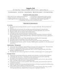 100 Resume Profile Statement Example Ingenious Resume