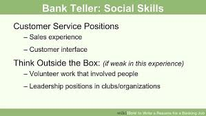 Resumes For Banking Jobs How To Write A Resume For A Banking Job 14 Steps With Pictures