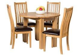waverly oak drop leaf round table