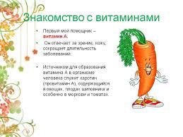 Реферат Витамины и здоровье школьника ru Банк  Реферат о витаминах 1 класс