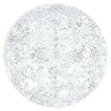 grey and white circle rug round area rugs the home depot ivory compressed