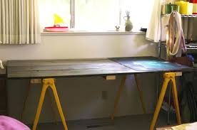 sawhorse desk legs ikea furniture the most affordable design with metal desks