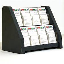 8 pocket vertical business card holder matching trim