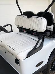 custom golf cart seat covers club car