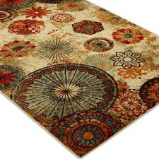 rugs incredible top 25 great alluring mohawk home caravan medallion multi depot with regard to at area