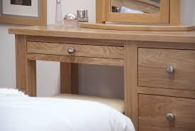 Modern Oak Bedroom Furniture Kingston Solid Modern Oak Bedroom Furniture Dressing Table With