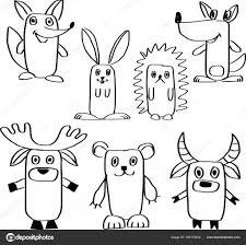Disegni Animali Della Foresta Disegno Degli Animali Della Foresta