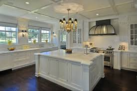 kitchens ideas with white cabinets. Lovely White Kitchen Design Ideas With Chandeliers #3924 . Kitchens Cabinets E