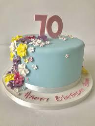 70th Cake Designs 70th Cake Anns Designer Cakes