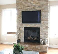 resurface fireplace ideas elegant modern family room design interior used stone fireplace design and small shaped