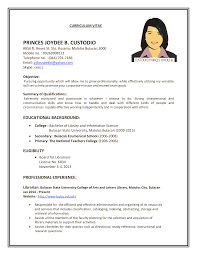 Job Format Resume Resume For Job Format Job Resume 24 Sample Emberskyme 10