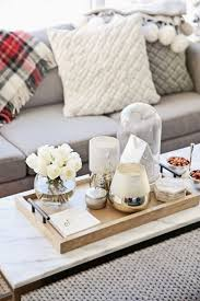 Decorating With Trays On Coffee Tables Tray Coffee Table 3