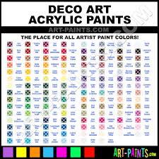 Folk Art Paint Chart 25 Prototypical Deco Art Americana Acrylic Paint Chart