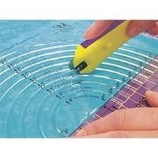 Sew Easy Quilt & Sew Ruler/Rotary Cutter For Quilting/Patchwork ... & Make Rotary cutting circles a breeze · Quilting RulersQuilting ... Adamdwight.com