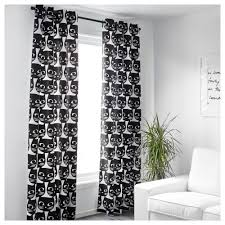 White And Black Curtains Attractive On Modern Home Decor Ideas With MATTRAM  Curtains 1 Pair 10