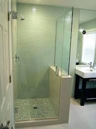 glass shower surround glass shower wall panels best doors enclosures images on with showers amusing half glass shower surround glass block shower wall