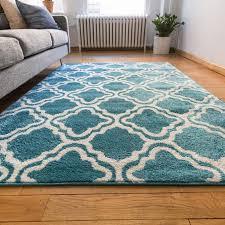 home architecture unique teal accent rug on modern trellis blue 5 x7 lattice area entry