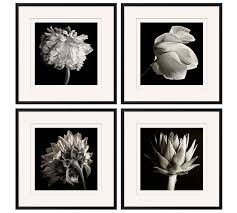 wall art black and white framed