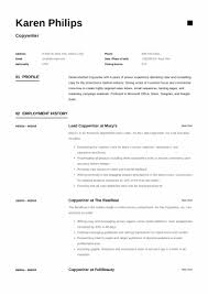 How To Write A Cover Letter For A Copywriting Job Resume Resume Sample Guide Different Copywriter Samples