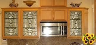 kitchen cabinet door glass inserts s s leaded glass kitchen cabinet door inserts