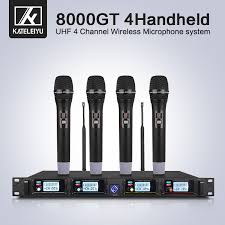 <b>Wireless Microphone System 8000GT</b> Professional UHF Channel ...