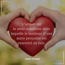 Citation Du Jour Attitude Pensée Positive Lamour Est La