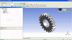Ansys Design Modeler Download Ansys Workbench Tutorial Spur Gear