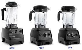 Vitamix Blender Comparison Chart Vitamix 5200 Or 7500 Vs 750 Compare Blenders Best Sale