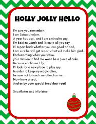 Elf on the Shelf Printable Letter