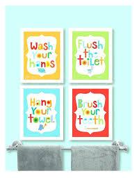 kids bathroom wall decor. Brilliant Kids Kids Bathroom Wall Decor Art Kid In Kids Bathroom Wall Decor