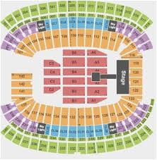 Gillette Stadium Section Online Charts Collection