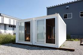#1 Minimalism japanese container home