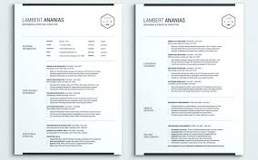 One Page Resume Simple One Page Resume Template Word Traditional Resume Template Phrase