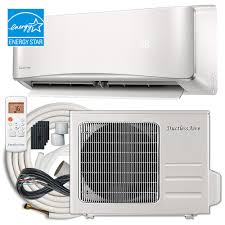 small hvac unit. Plain Small DuctlessAire Energy Star 24000 BTU 2 Ton Ductless Mini Split Air  Conditioner And Heat Pump Variable And Small Hvac Unit M