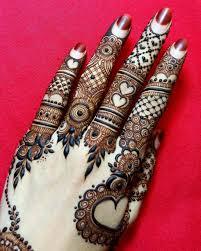 Beautiful Henna Designs For Fingers Pin By Soofia Farooqi On My Mehndi Henna Designs