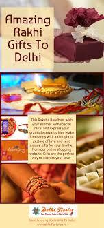 amazing rakhi gifts to delhi amazing