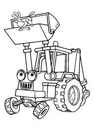 Kleurplaat Baby Tractor Bob Der Baumeister 10 Ausmalbilder Kostenlos