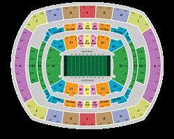 Wrestlemania Seating Chart Metlife 2014 Super Bowl Tickets Metlife Stadium Seating Chart And