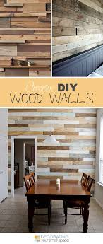 just a girl blog made this wonderful pallet diy wood wall and she has a two part instruction page i love how she embraces the imperfections