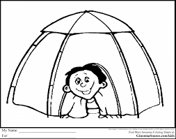 Small Picture incredible kids camping tent coloring pages with camping coloring