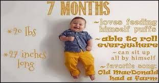 Seven Month Milestones Chart 7 Month Olds Developmental Milestones A Complete Guide