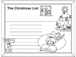 Santa Wish List Coloring Pages Weareeachother Coloring