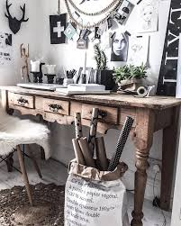 Image Desk My Rustic Vintage Workspace Office u2026 Pinterest My Rustic Vintage Workspace Office u2026 Vintage Office In 2019